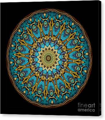Kaleidoscope Steampunk Series Canvas Print by Amy Cicconi