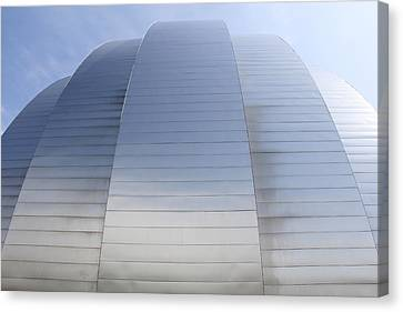 Kauffman Center For Performing Arts Canvas Print by Mike McGlothlen