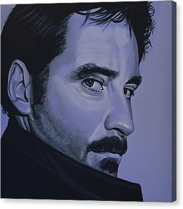 Kevin Kline Canvas Print by Paul Meijering