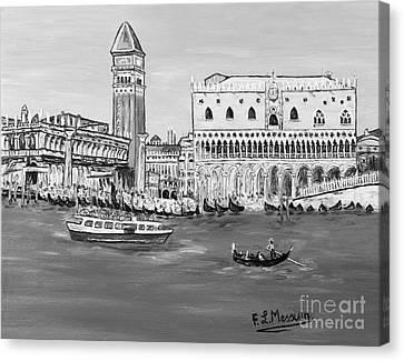 Laguna Canvas Print by Loredana Messina