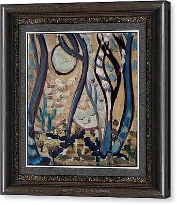 Landscape Canvas Print by Zdravko Batembergski