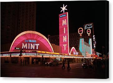 Las Vegas 1983 Canvas Print by Frank Romeo