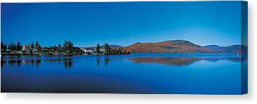 Laurentide Quebec Canada Canvas Print by Panoramic Images