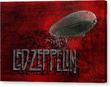 Led Zeppelin Canvas Print by Jack Zulli