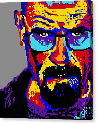 Lego Walter White  Canvas Print by Marc Orphanos