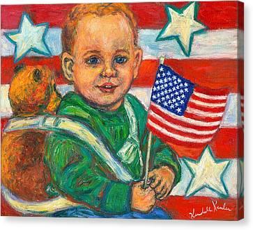 Liberty Canvas Print by Kendall Kessler