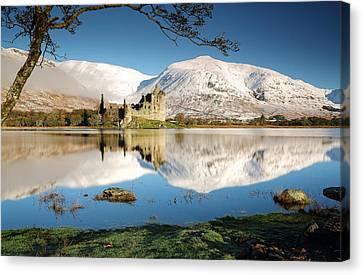 Loch Awe Canvas Print by Grant Glendinning