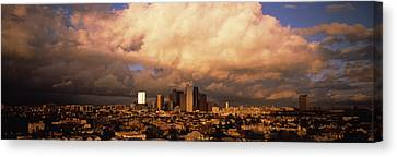 Los Angeles Ca Usa Canvas Print by Panoramic Images