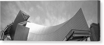 Low Angle View Of A Building Canvas Print by Panoramic Images