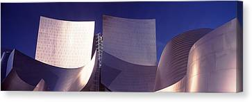 Low Angle View Of A Concert Hall, Walt Canvas Print by Panoramic Images