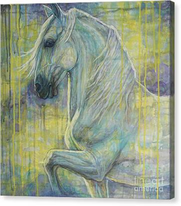 Magic Blue Canvas Print by Silvana Gabudean