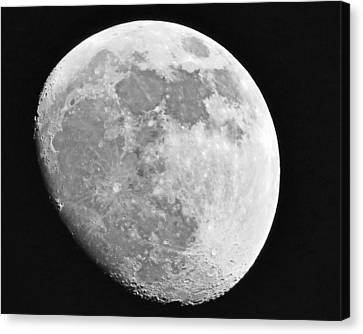 Man In The Moon Canvas Print by Tom Gari Gallery-Three-Photography