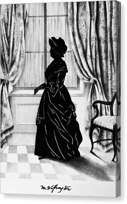 Martha Washington (1731-1802) Canvas Print by Granger