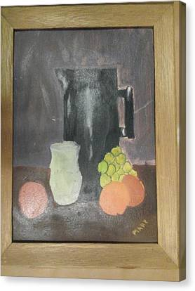 #2 Canvas Print by Mary Ellen Anderson