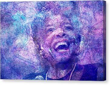 Maya Angelou Canvas Print by D Walton