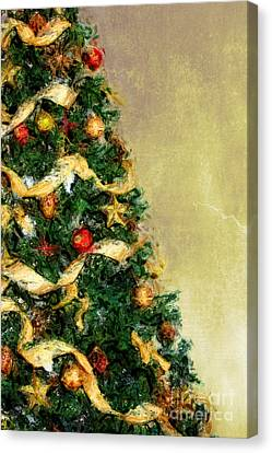 Merry Xmas Canvas Print by Angela Doelling AD DESIGN Photo and PhotoArt