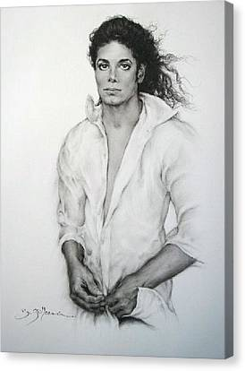 Michael Jackson Canvas Print by Guillaume Bruno