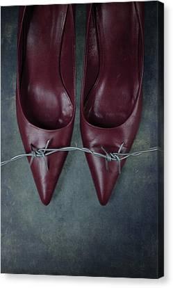 Mind Your Steps Canvas Print by Joana Kruse