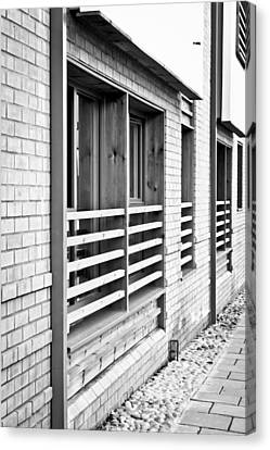 Modern Apartment Windows Canvas Print by Tom Gowanlock