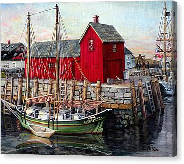 Motif  Number One Canvas Print by Eileen Patten Oliver