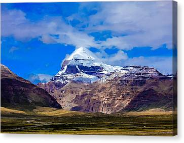 Mt Kailash. Canvas Print by Kirill Kamionsky