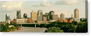 Nashville Panorama Canvas Print by Pixabay