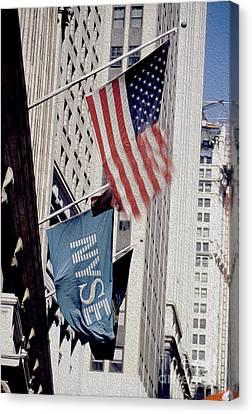 New York Stock Exchange Canvas Print by Jon Neidert