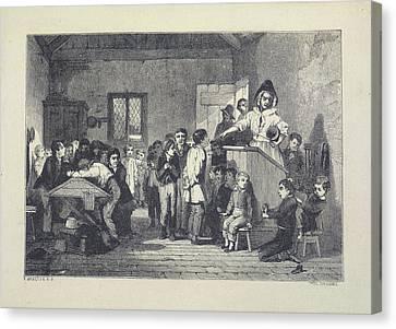 Nicholas Nickleby Canvas Print by British Library