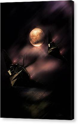 Night Stalkers Canvas Print by Peter Chilelli