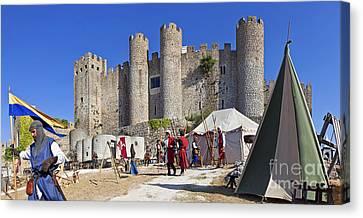 Obidos Castle Canvas Print by Jose Elias - Sofia Pereira