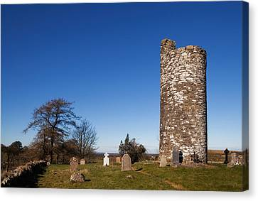 Old Kilcullen Round Tower, County Canvas Print by Panoramic Images