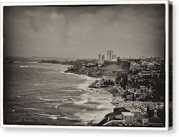 Old San Juan Canvas Print by Dado Molina