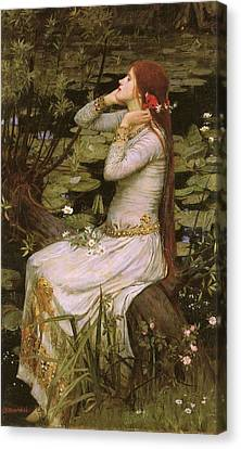 Ophelia Canvas Print by Philip Ralley
