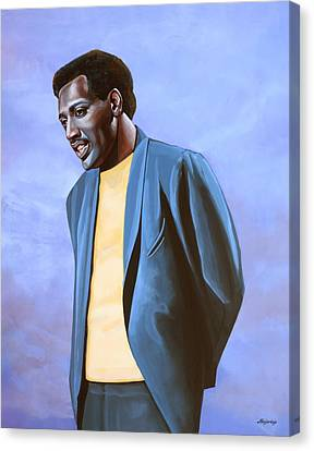 Otis Redding Painting Canvas Print by Paul Meijering