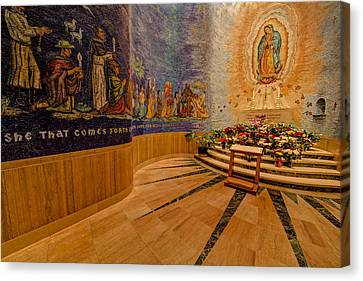 Our Lady Of Guadalupe Canvas Print by Susan Candelario