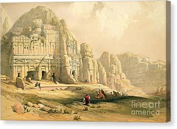Petra Canvas Print by David Roberts