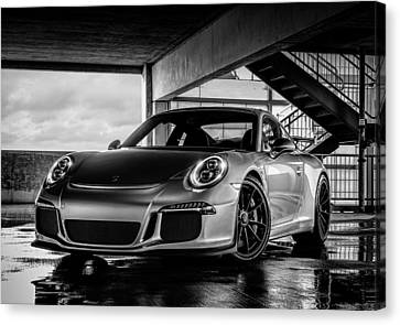 Porsche 911 Gt3 Canvas Print by Douglas Pittman