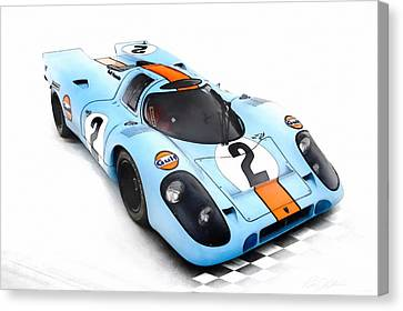 Porsche 917 Canvas Print by Peter Chilelli