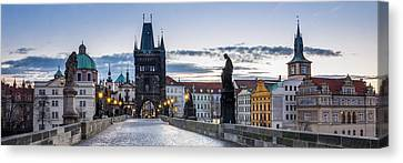 Praga Canvas Print by Radek Hofman