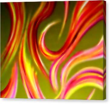 Pyromania Canvas Print by Cyryn Fyrcyd
