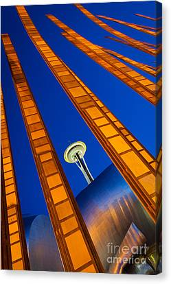 Reach For The Sky Canvas Print by Inge Johnsson