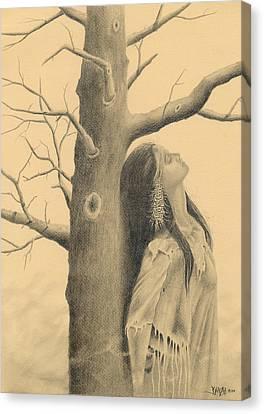 Reflections Canvas Print by Dino Baiza