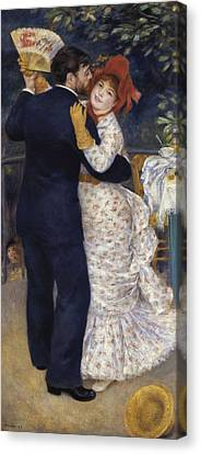 Renoir, Pierre-auguste 1841-1919. Dance Canvas Print by Everett