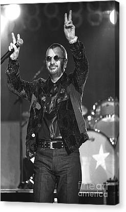 Ringo Starr And His All Starr Band Canvas Print by Front Row  Photographs