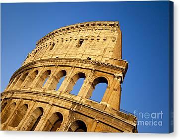 Roman Coliseum Canvas Print by Brian Jannsen