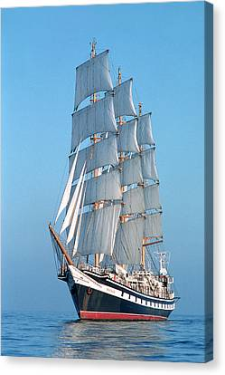 Sailing Ship Canvas Print by Anonymous