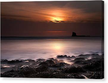 Saltwick Bay Canvas Print by Svetlana Sewell