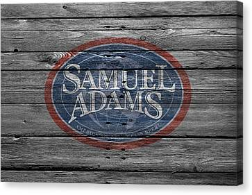 Samuel Adams Canvas Print by Joe Hamilton