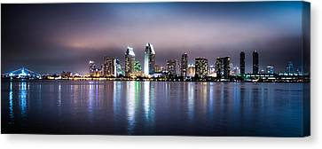 San Diego Canvas Print by Mickey Clausen