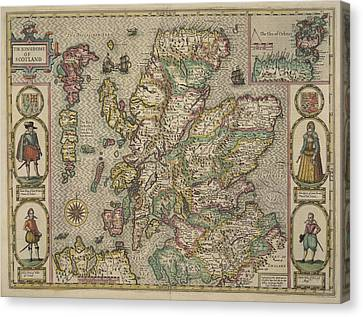 Scotland Canvas Print by British Library